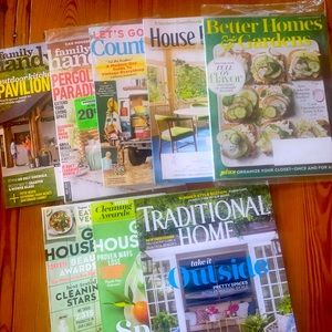8 Home Inspired Magazines 8 for $10